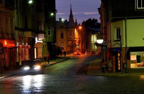 Ночные улицы Лиепая.jpg