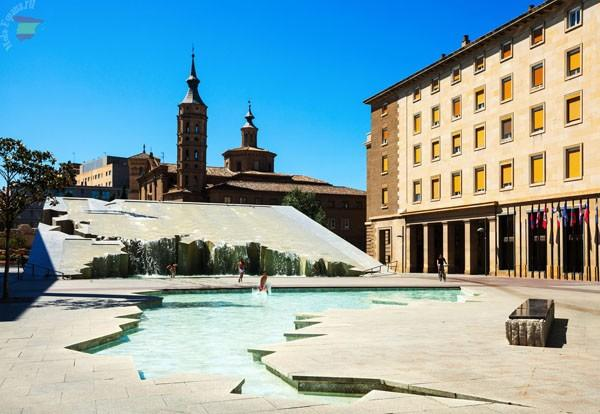 Fuente de la Hispanidad - фонтан в Сарагосе
