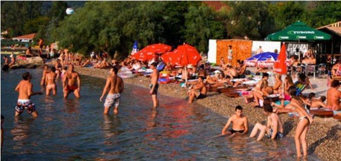 Пляжи в Тивате