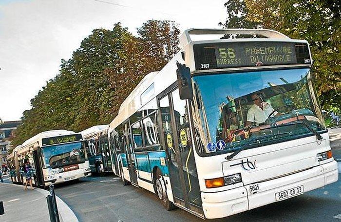 Транспорт Бордо - автобусы