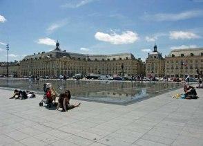 Бордо - площадь Биржи (Place de la Bourse)