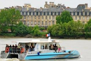 Бордо - паром Le Bus du Fleuve