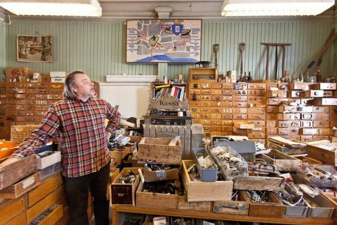 Хозяйственный магазинчик Porvoon wanha rautakauppa. Фото: uusimaa.fi