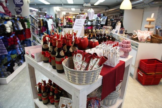 Магазин рукоделия Teetee SHOP. Фото: joulutaika.fi
