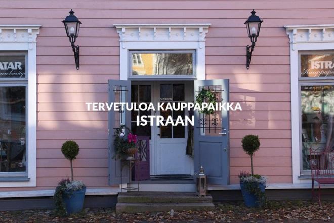 Магазин Istra & Ilmatar & Wanhan Porvoon kynttiläpaja. Фото: istra.fi