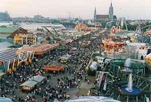 Theresienwiese - самый большой блошинный рынок в Европе