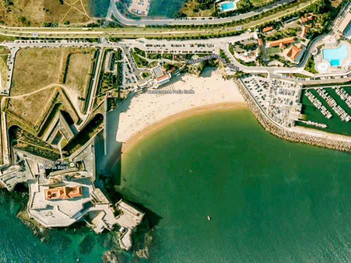 Пляжи Лиссабона - Praia da Torre