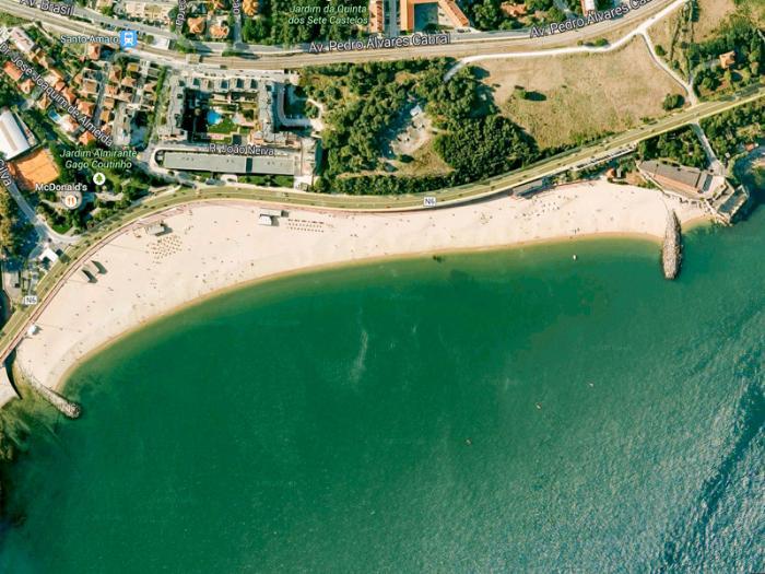 Пляжи Лиссабона - Praia de Santo Amaro