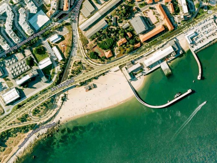 Пляжи в Лиссабоне - Praia de Paço de Arcos