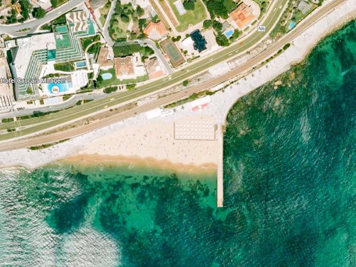 Пляжи Лиссабона - Praia das Moitas