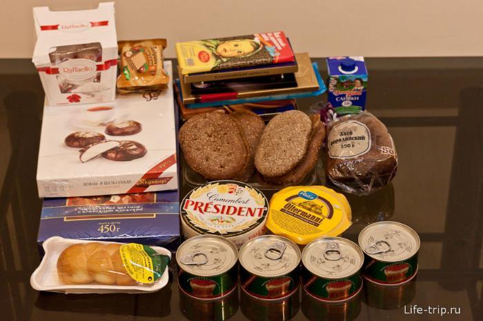 Еда из России
