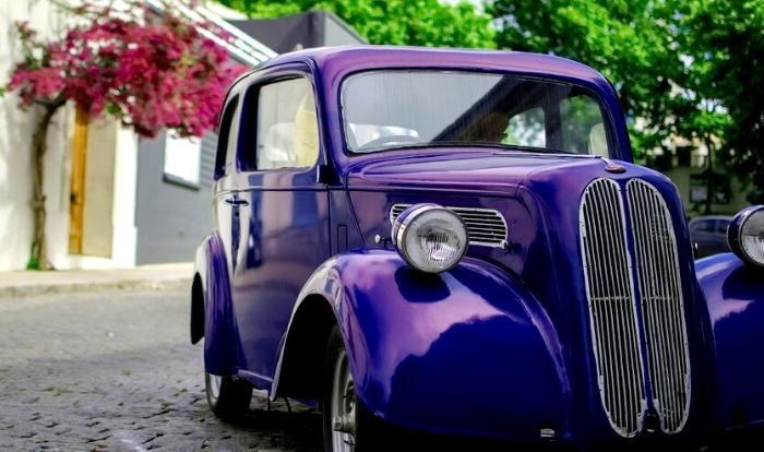 ретро авто в уругвае
