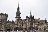 Дрезден: театральная площадь