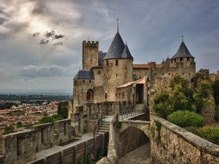 Замок Каркассон во Франции