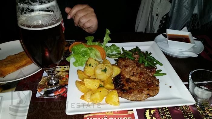 Ужин в Hotel & Steak House Hacienda LaBodega
