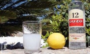 Кипр - местная водка Узо (Ouzo)