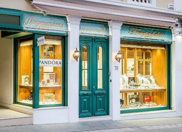 Крит - ювелирный магазин Fragiadakis