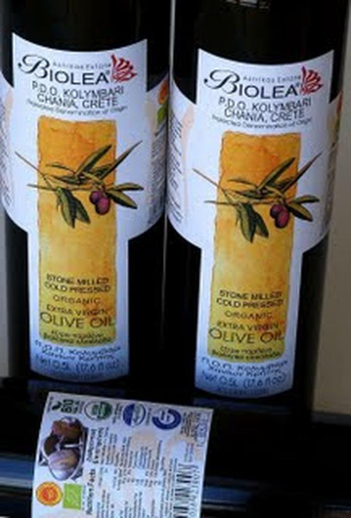 Оливковое масло Biolea - лучшее на Крите