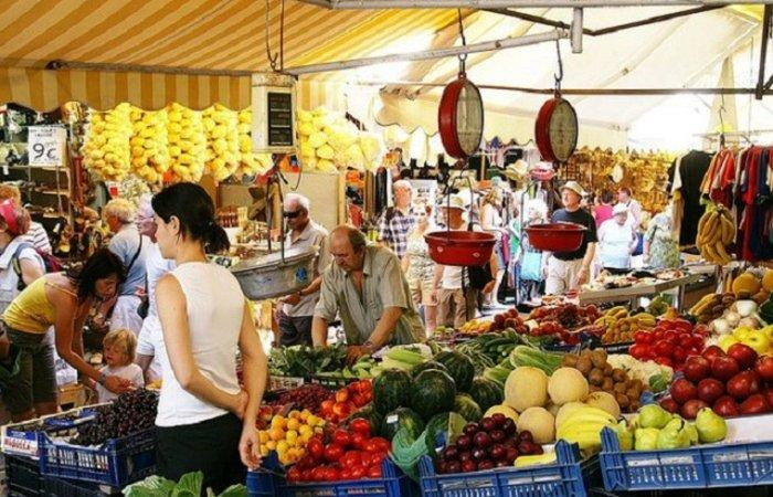 Рынок на Крите