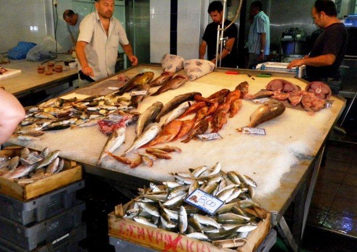Рынок продуктов на Крите