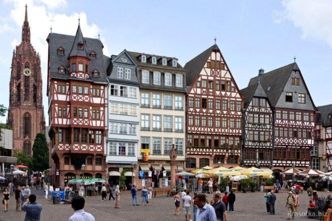 Торговые улицы Франкфурта-на-Майне