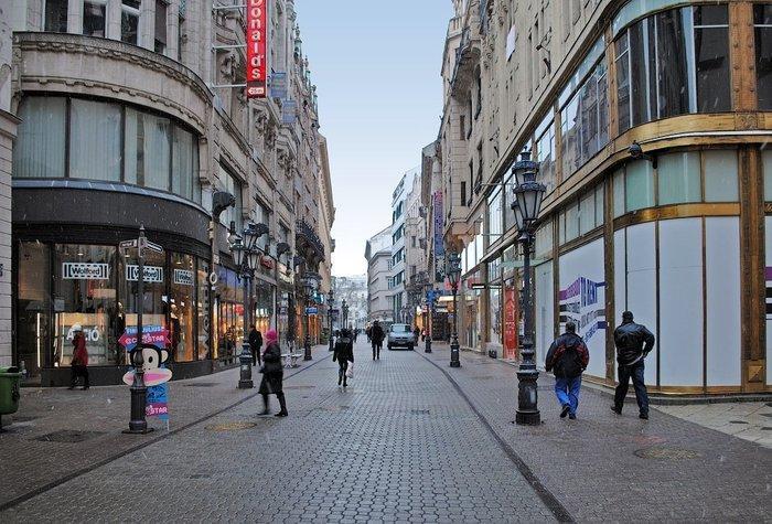 Магазины Будапешта