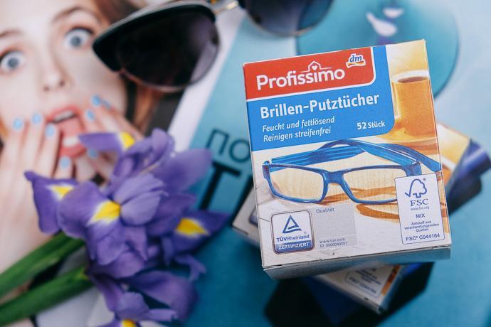 покупки из Германии, салфетки для чистки очков