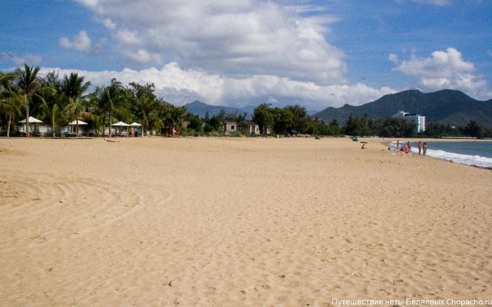 Пляж Фанранга (Вьетнам), наши фото и отзывы.
