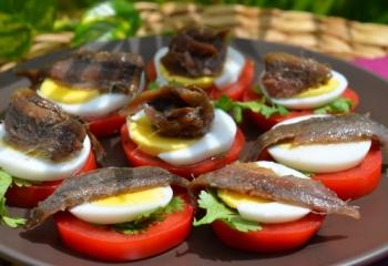 Кухня Портофино славится блюдами из анчоусов
