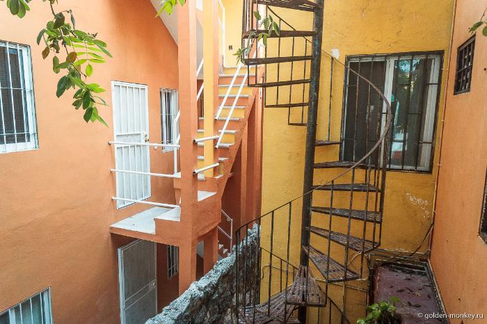 Плайя-дель-Кармен, дом, в котором жили мы