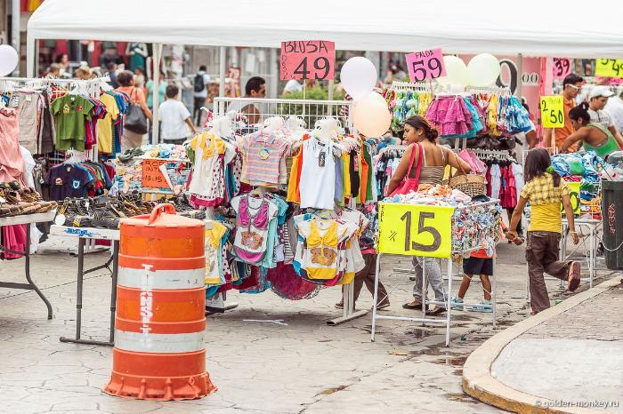 Плайя-дель-Кармен, распродажа по-мексикански