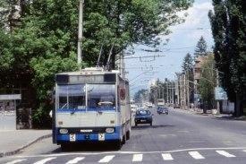 Городской транспорт - троллейбусы