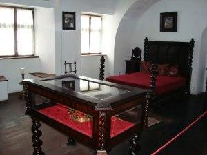 Внутренние помещения замка Дракулы
