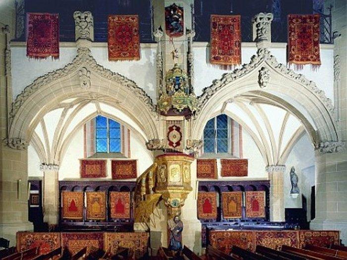 Интерьер Черной церкви в Брашове