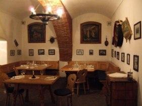 Залы ресторана «Butoiul Sasului»