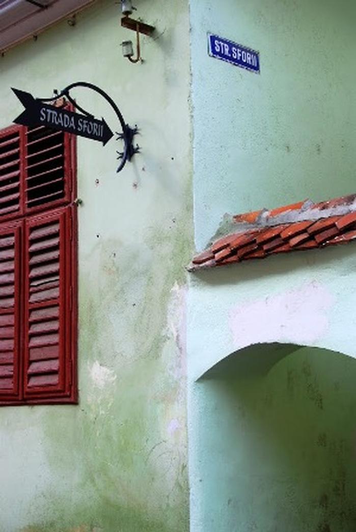 Strada sforii — самая узкая улица