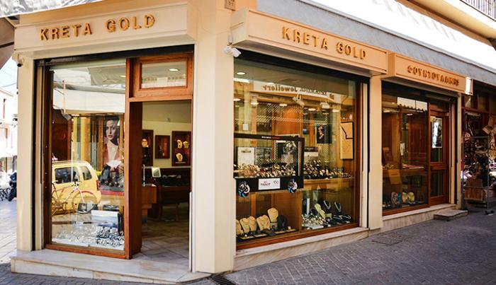 Ювелирный магазин Kreta Gold.