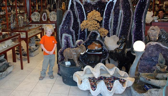 Магазин камней.