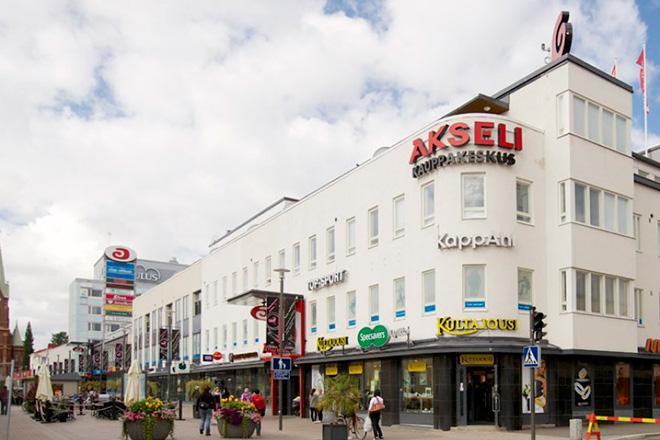 Торговый центр Akseli