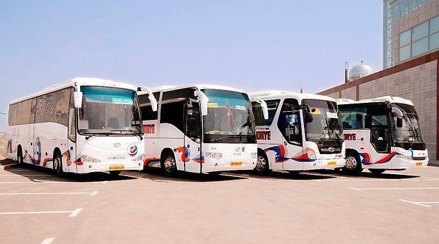 Рейсовые автобусы АТП «Приморье»