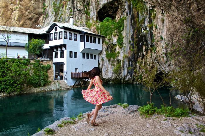 Мостар, деревня Благай, монастырь дервишей