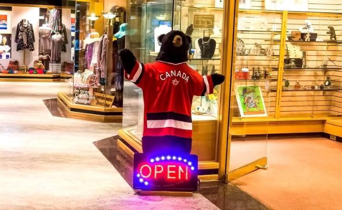 шоппинг в канаде