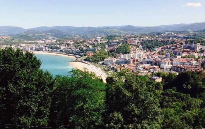San Sebastián beach