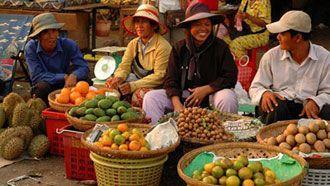 Рынок в Сиемприале