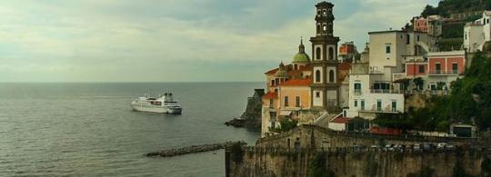 Майори – курортный городок на Амальфитанском побережье Италии
