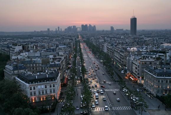 Лучшие места для шопинга в мире: Елисейские Поля, Париж