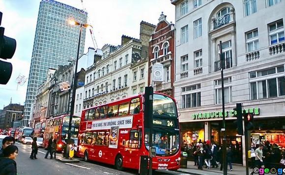 Лучшие места для шопинга в мире: Оскфорд-Стрит