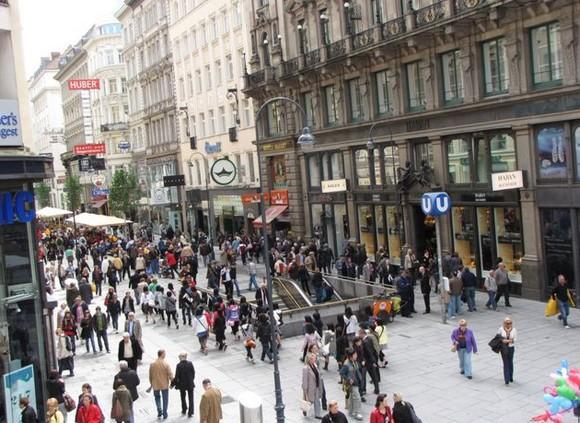 Лучшие места для шопинга в мире: Картнер-штрассе, Вена