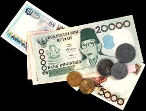 Местная валюта - индонезийская рупия