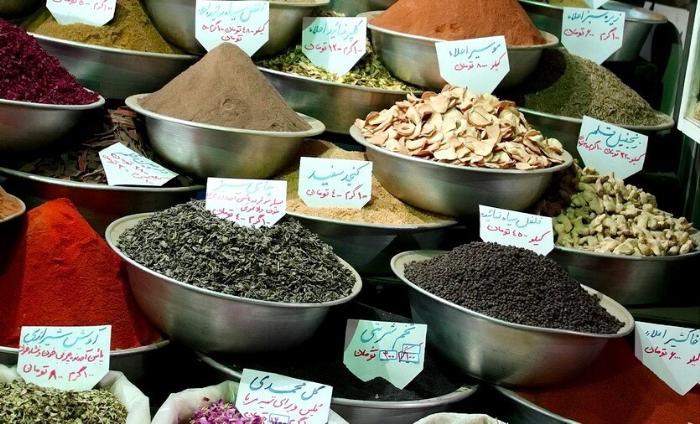 специи в иране